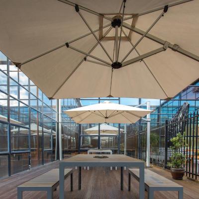 Basestation courtyard