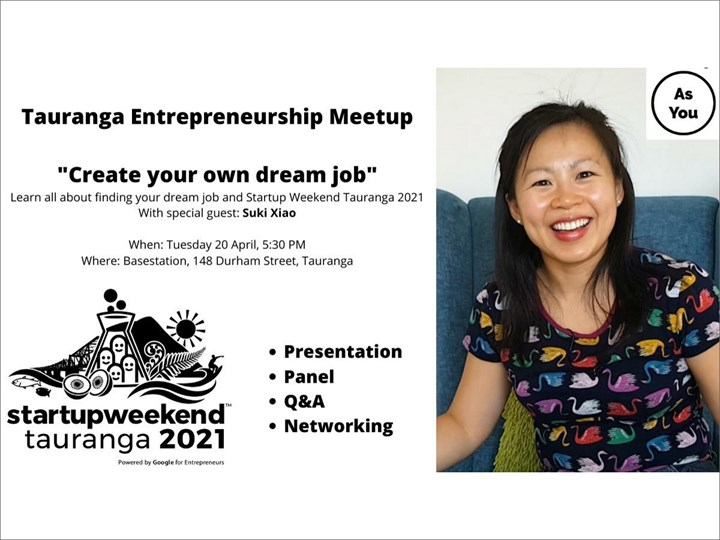 Create your own dream job with Suki Xiao